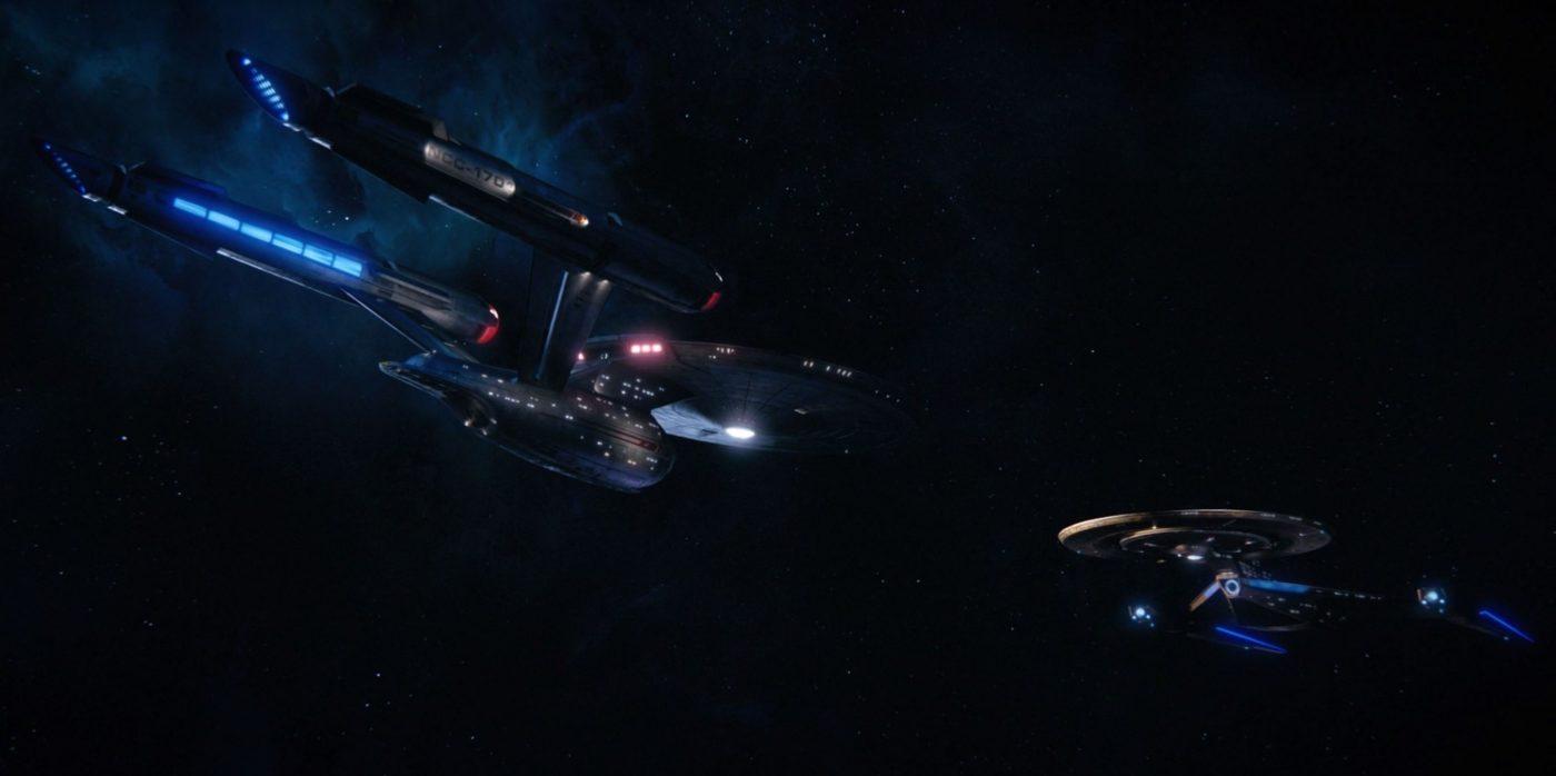 Fred's S1E15 beautiful lighting screen shots (44:07) - NCC-1701 & NCC-1031