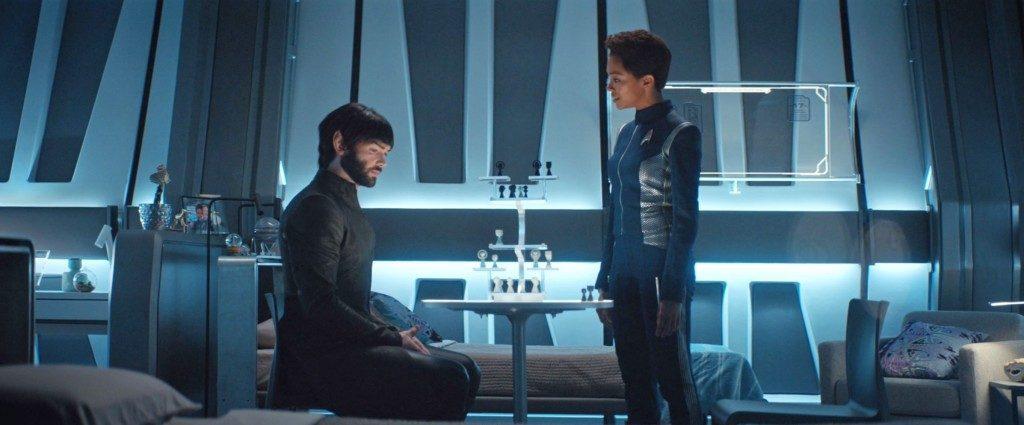 Michael & Spock arguing - STDP 034 - Star Trek Discovery S2E9 (23:05)