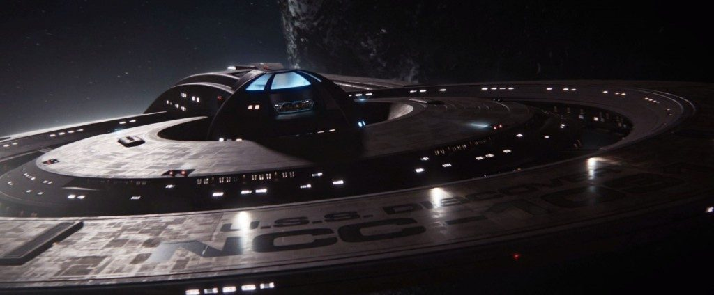 The U.S.S. Discovery over Boreth. - STDP 037 - Star Trek Discovery S2E12 (15:00)