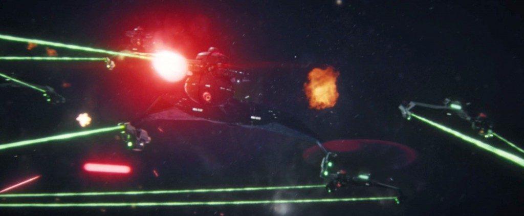 STDP 041 - Star Trek Discovery S2E14 (41:45) - Klingon D-7 arriving.