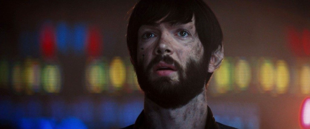 STDP 041 - Star Trek Discovery S2E14 (55:25) - Spock watching Burnham and the Discovery go into the wormhole.