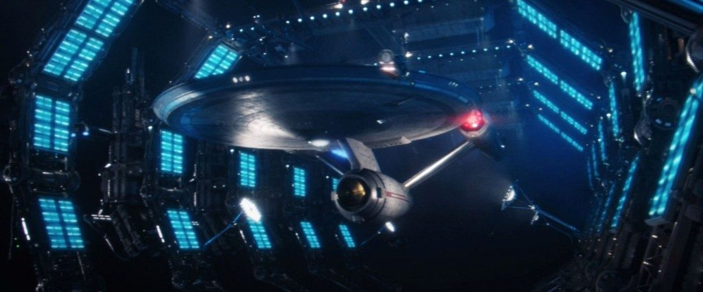 STDP 041 - Star Trek Discovery S2E14 (1:00:24) - U.S.S. Enterprise in space dock.