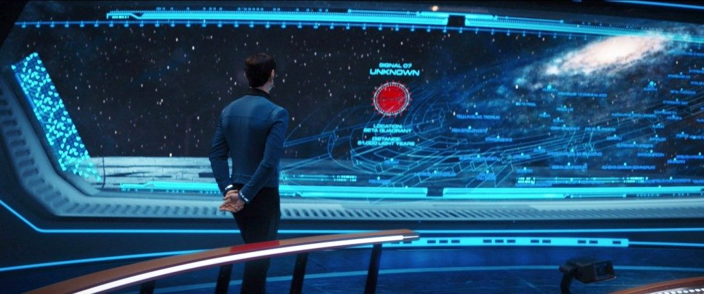 STDP 041 - Star Trek Discovery S2E14 (1:02:42) - It looks like it's in the Beta Quadrant.