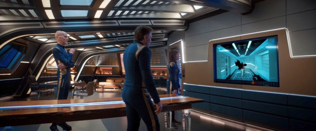 STDP 034 - Star Trek Discovery S2E9 (06:09) - Cornwell shows Saru & Pike the Spock murders.