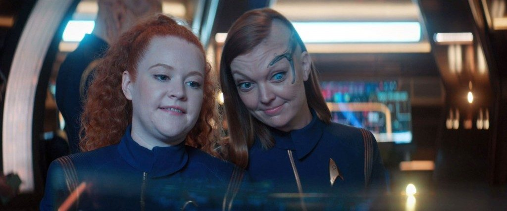Look at Airiam's results, three cheers for cybernetics! STDP 034 - Star Trek Discovery S2E9 (15:13)