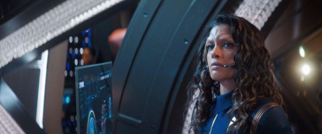 Nhan observing Airiam - STDP 034 - Star Trek Discovery S2E9 (20:12)
