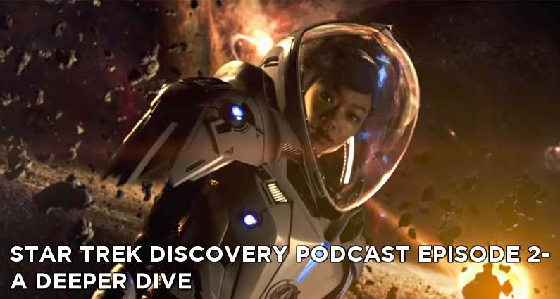 STDP 002 - A Deeper Dive into Star Trek: Discovery