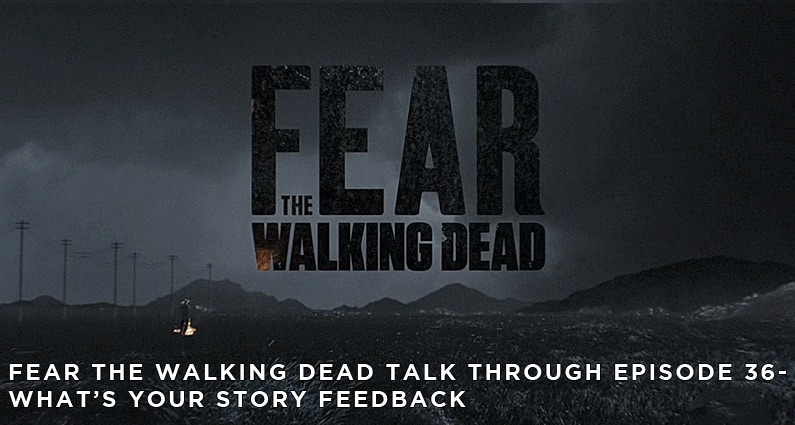 FTWDTT 036 - What's Your Story (S4E1) Feedback