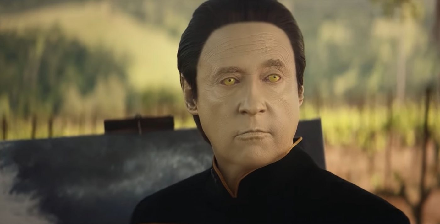 Data, played by Brent Spiner.