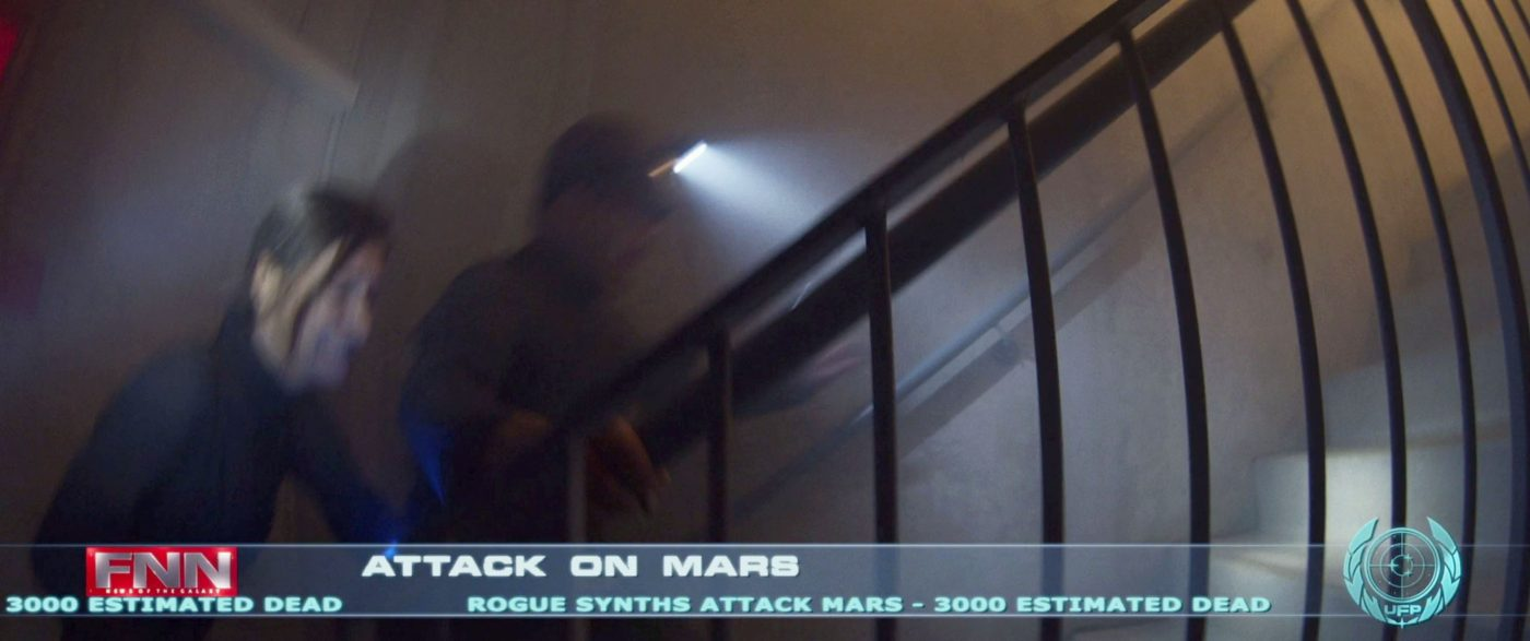 ROGUE SYNTHS ATTACK MARS - 3000 ESTIMATED DEAD. - STPC 003 - Short Treks S2E6 - Children of Mars (05:39)
