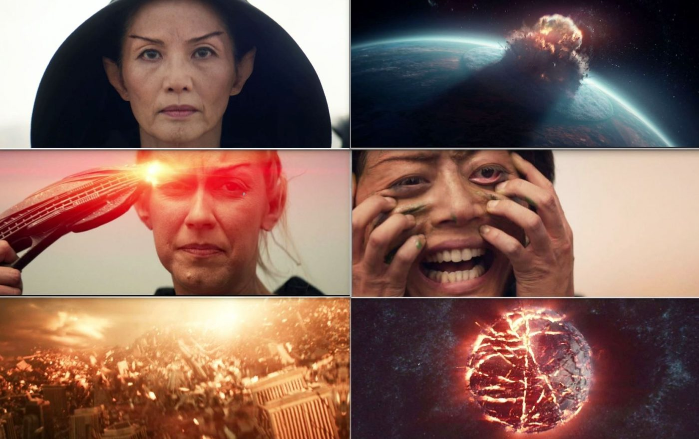 Images that are shown in the mind-meld. - STPC 011 - Star Trek: Picard - S1E7 (04:15)