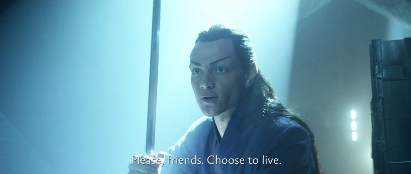 Please, friends. Choose to live. - STPC 011 - Star Trek: Picard -  S1E7 Nepenthe (37:57)