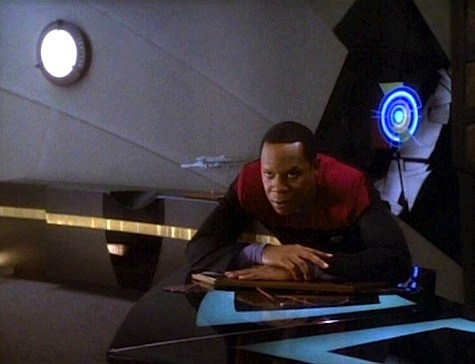 Sisko in Dramatis Personae