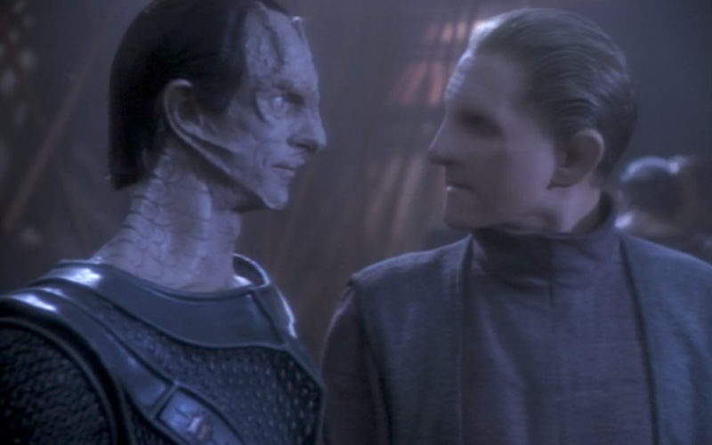 Odo in Necessary Evil