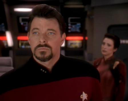 Riker on the Defiant