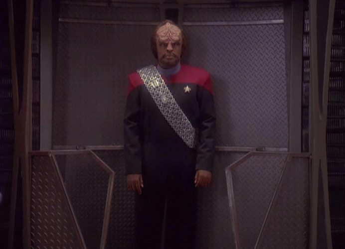 Worf in Red